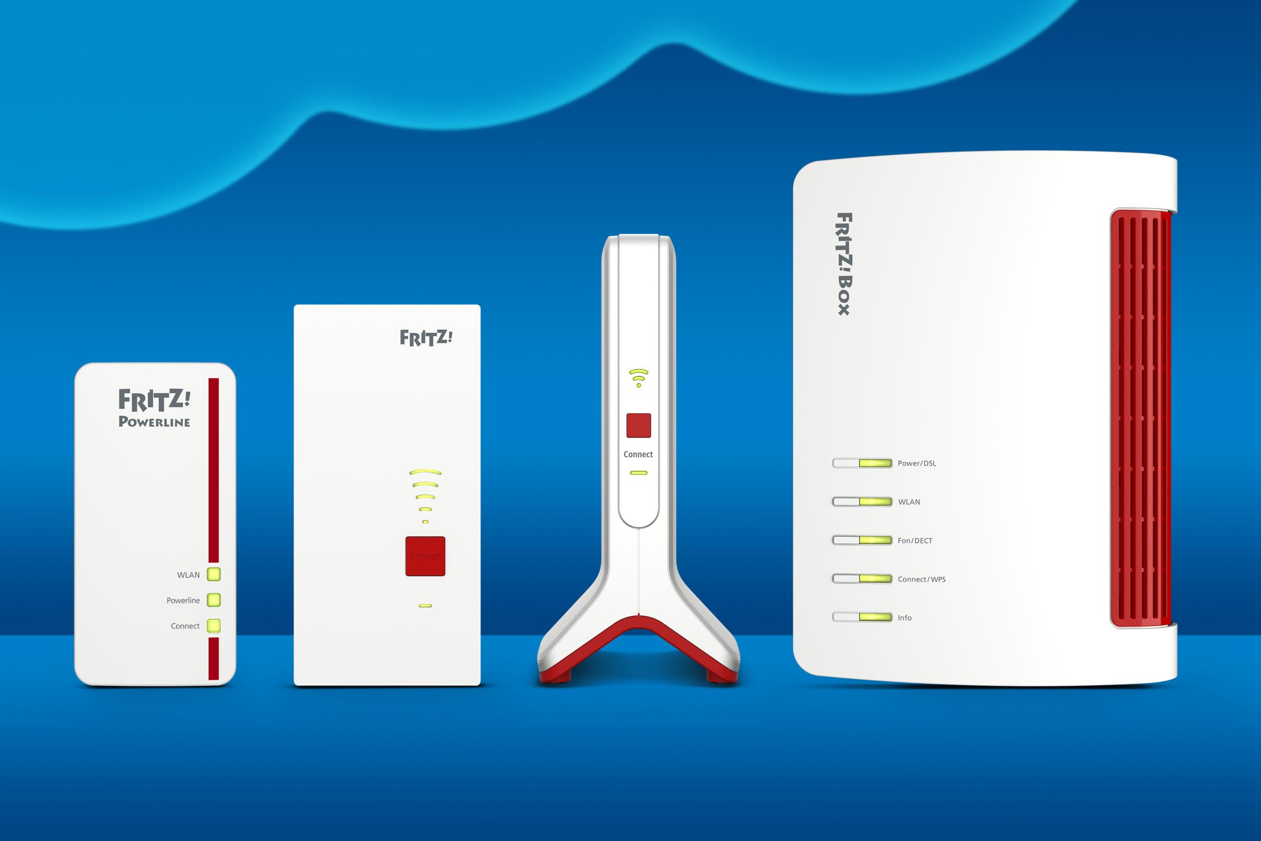 Więcej sieci mesh WiFi: oprogramowanie FRITZ!OS 7.20 dla repeaterów i powerline