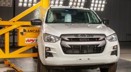 ISUZU D-MAX z 5 gwiazdkami Euro NCAP